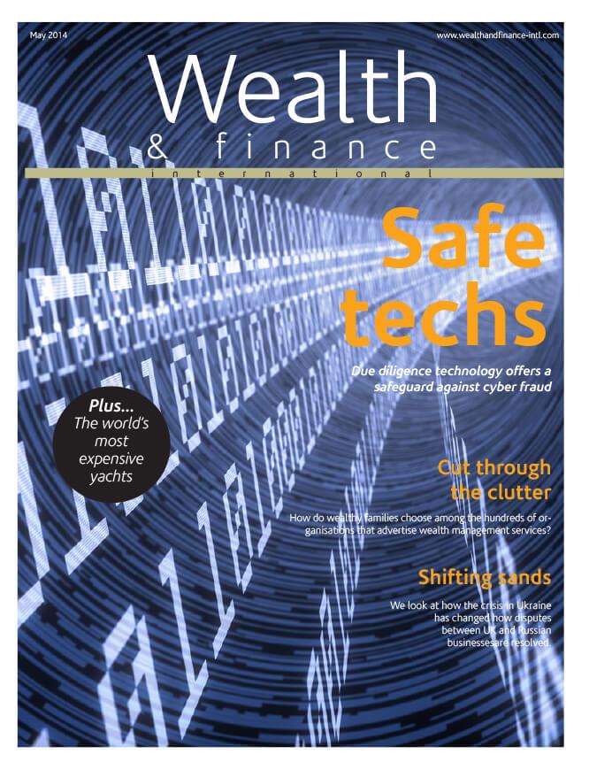 Wealth & Finance Magazine May 2014