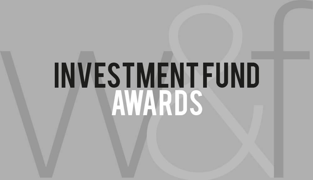 Investment Fund Awards Logo Long