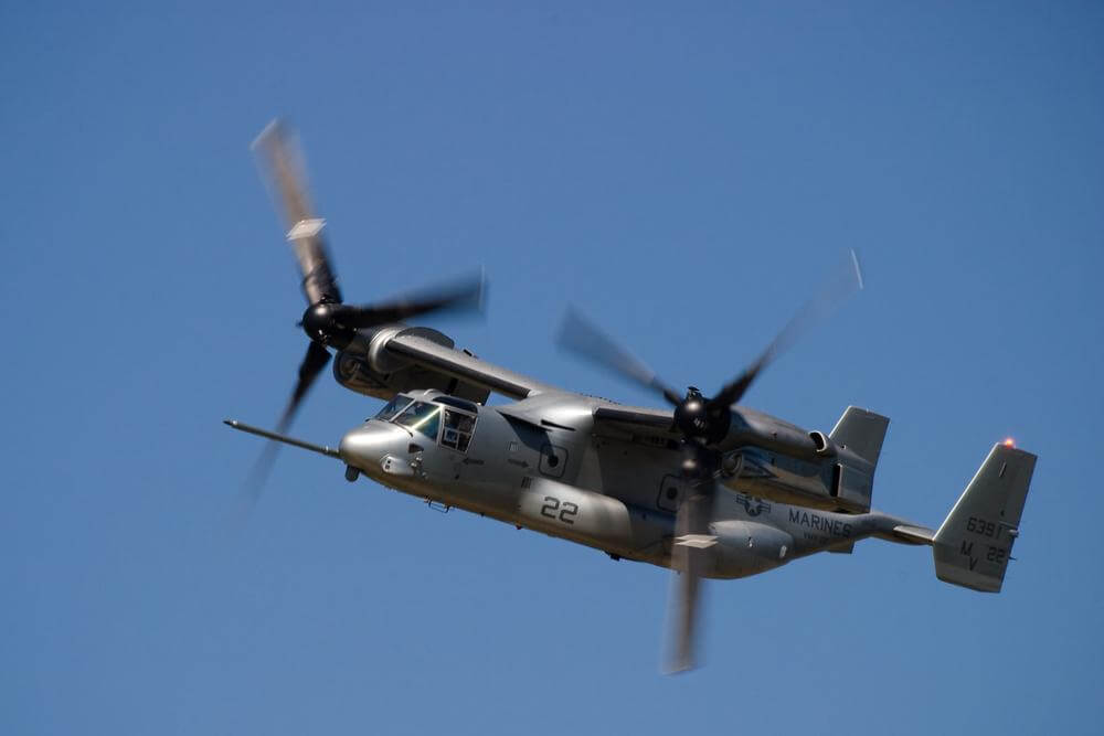 Rolls-Royce Wins US Marine Corps V-22 Engine Services Contract