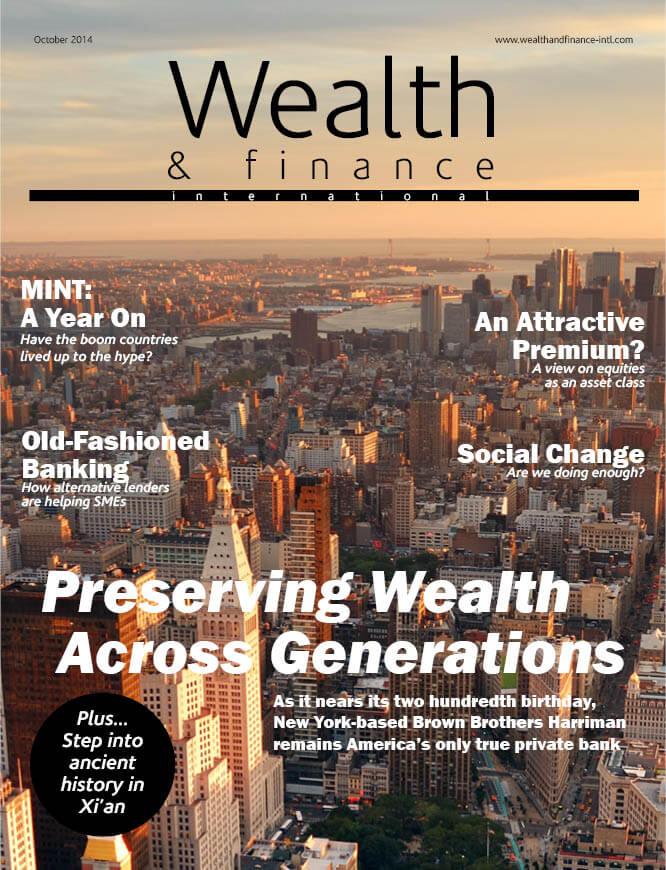 Wealth & Finance Magazine October 2014