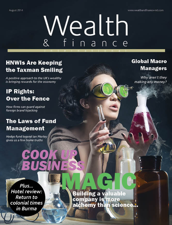 Wealth & Finance Magazine August 2014