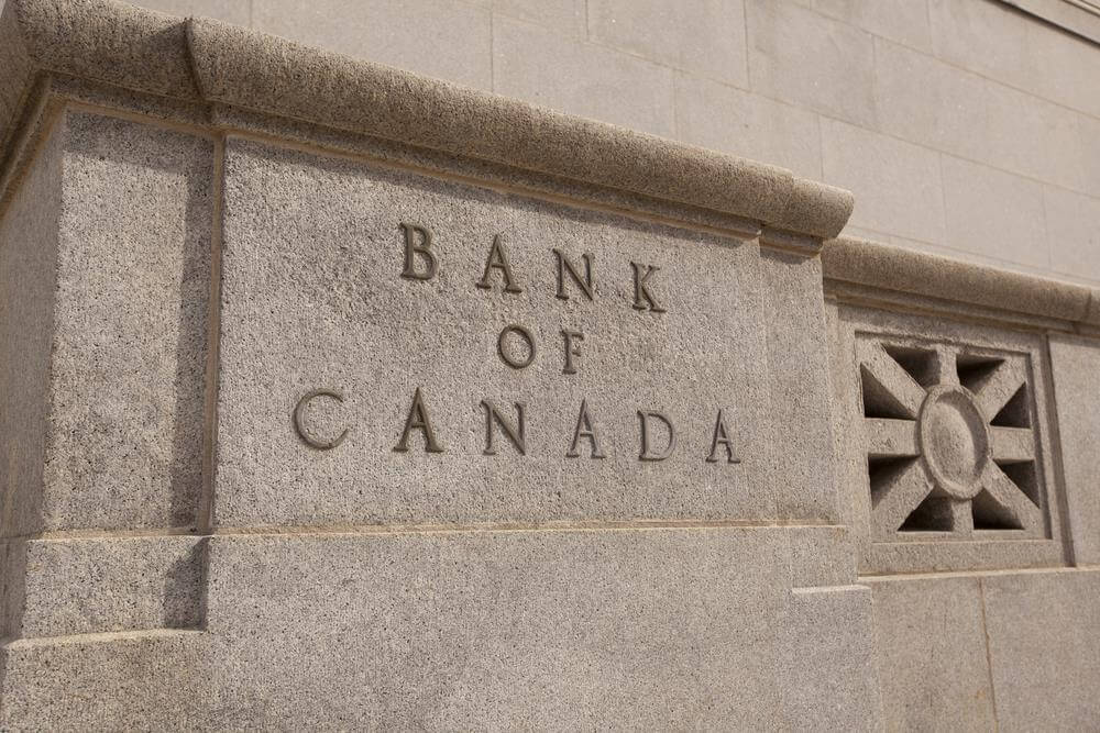 Bank of Canada lowers overnight rate target to 1/2 per cent