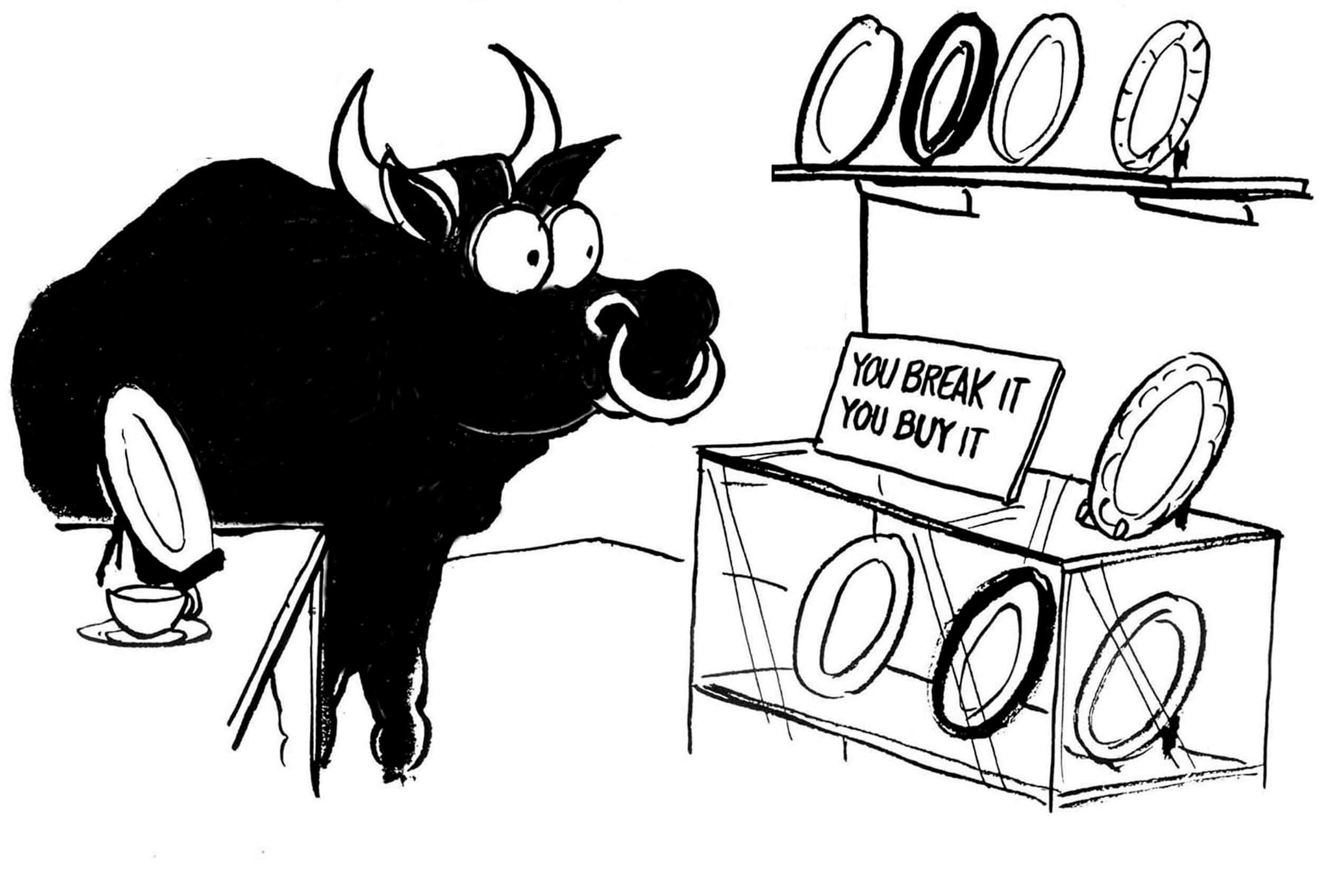 Embrace the Bull in the China Shop