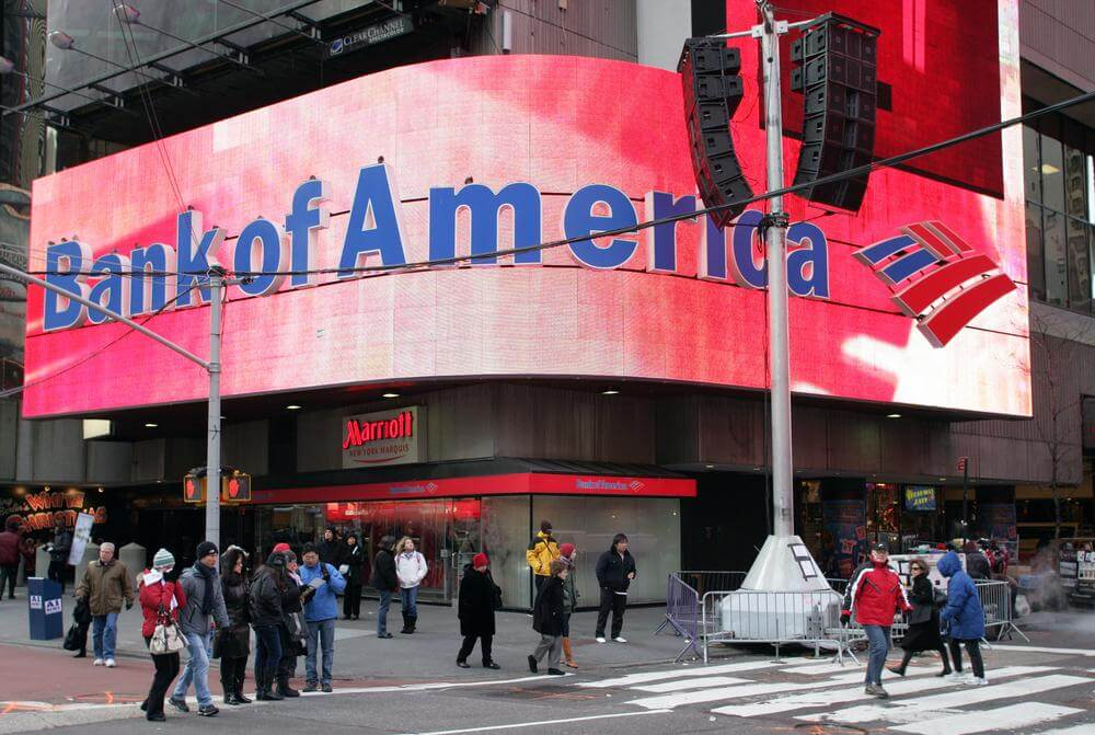 Bank of America Reports First Quarter Net Loss