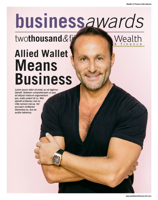 Business Awards - Wealth and Finance International