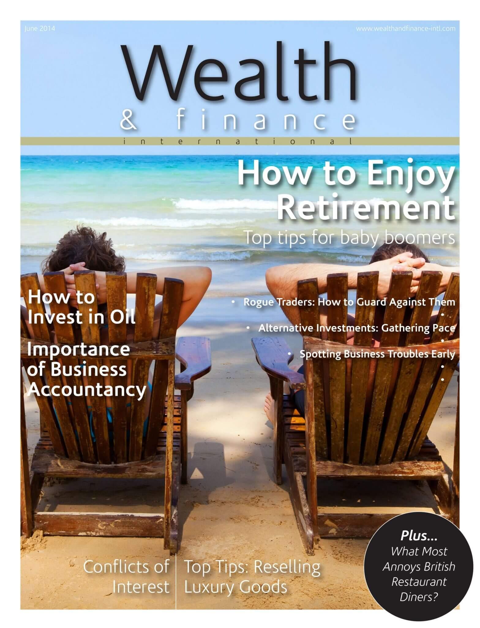 Wealth & Finance Magazine June 2014
